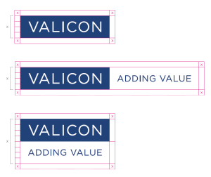 valicon logo prostor nedotakljivosti