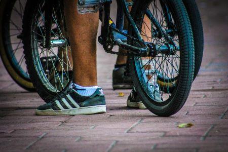 Protestniki na kolesih z večinsko podporo